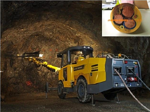矿用铲运机电缆拖曳尾缆