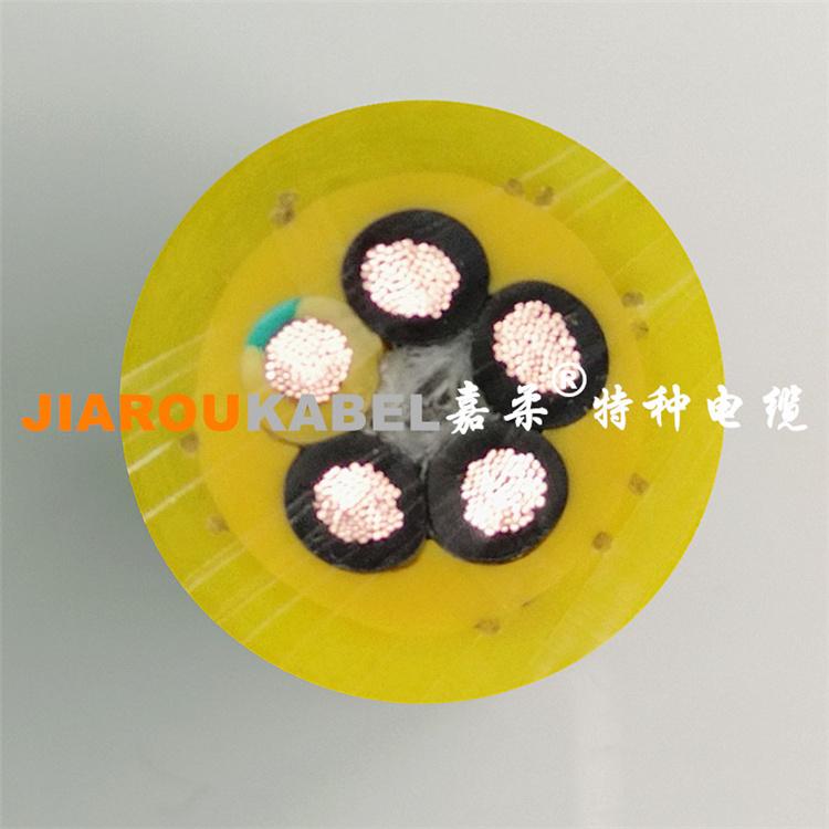 高耐磨抗拉聚氨酯卷筒电缆