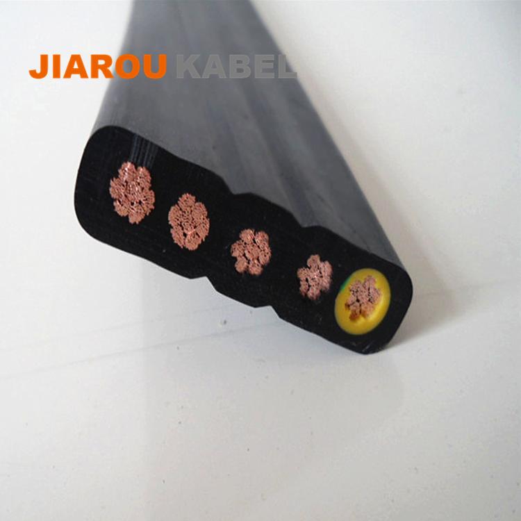 多芯一字单排YFFB扁平控制电缆