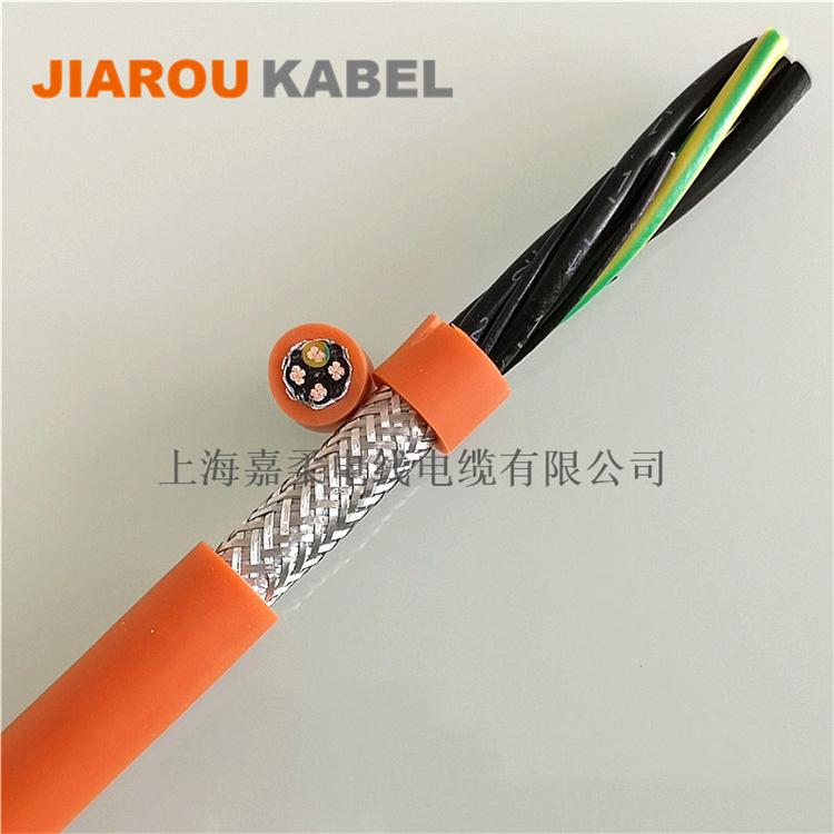 高柔性,经济型,带屏蔽伺服电机电缆