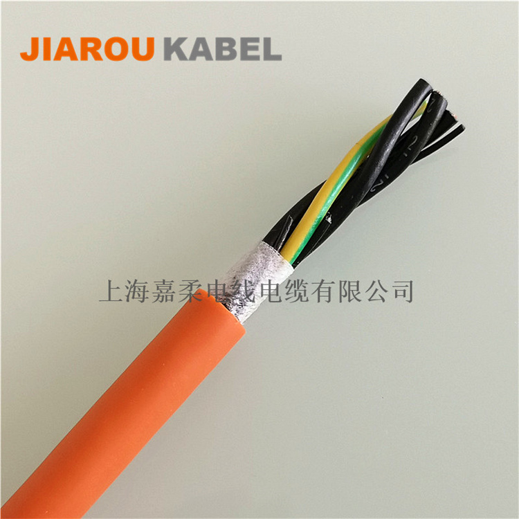 拖链系统用非屏蔽高柔性伺服电缆
