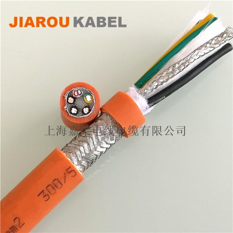 伺服电机电缆集电源和控制连于一体