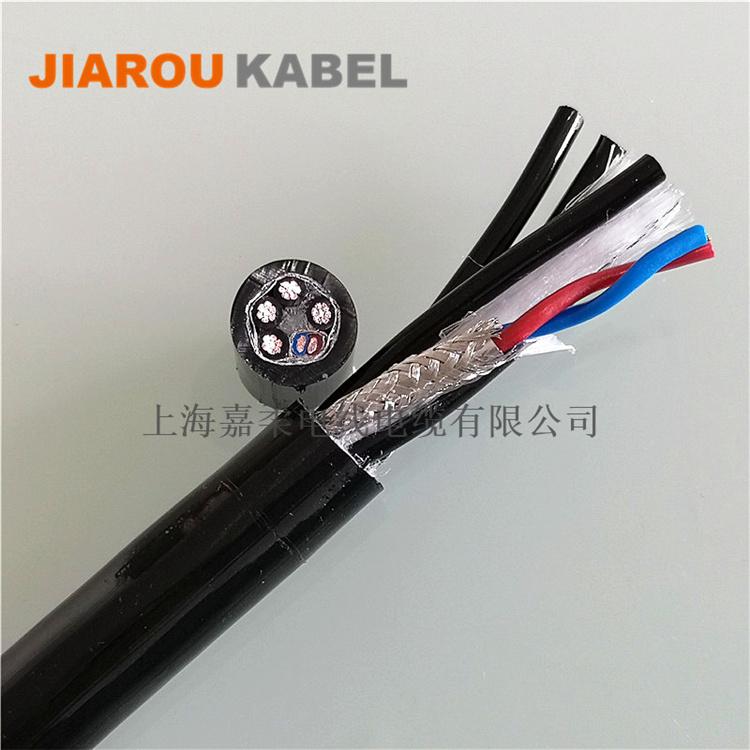 低电容,高柔性PUR聚氨酯伺服电机电缆