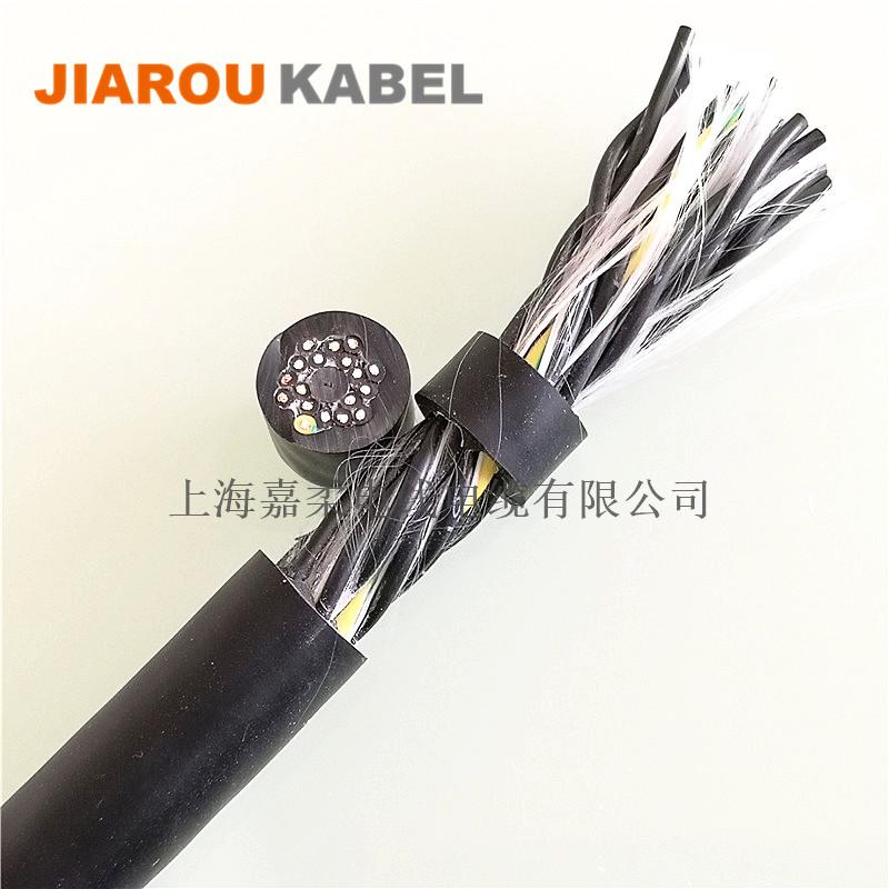多芯高柔性机器人电缆