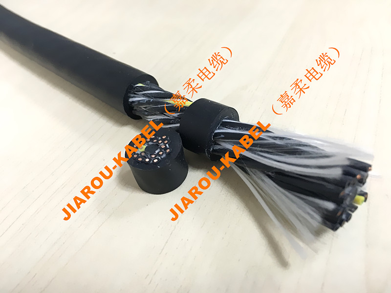高柔性拖链电缆全挤压式外护套