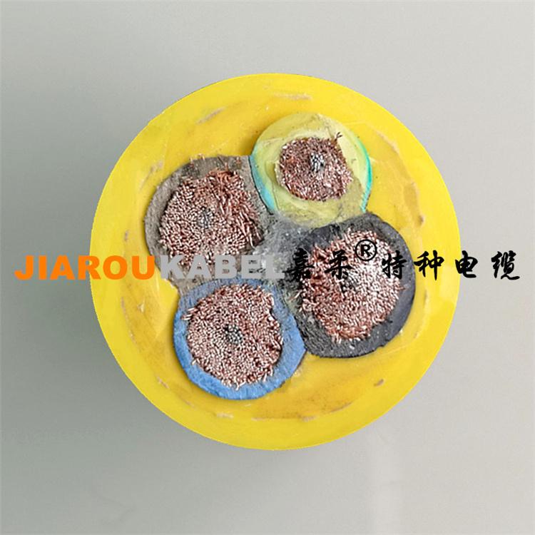 耐磨损TPU聚氨酯卷筒电缆(加强型抗拉)