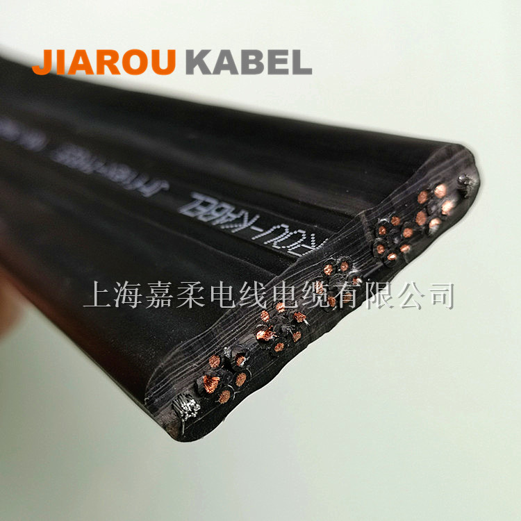 多芯组合抗拉YFFBG双钢丝扁电缆