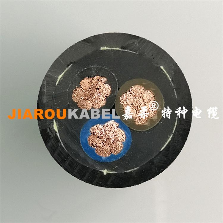 双护套聚氨酯卷筒电缆+凯夫拉编织层