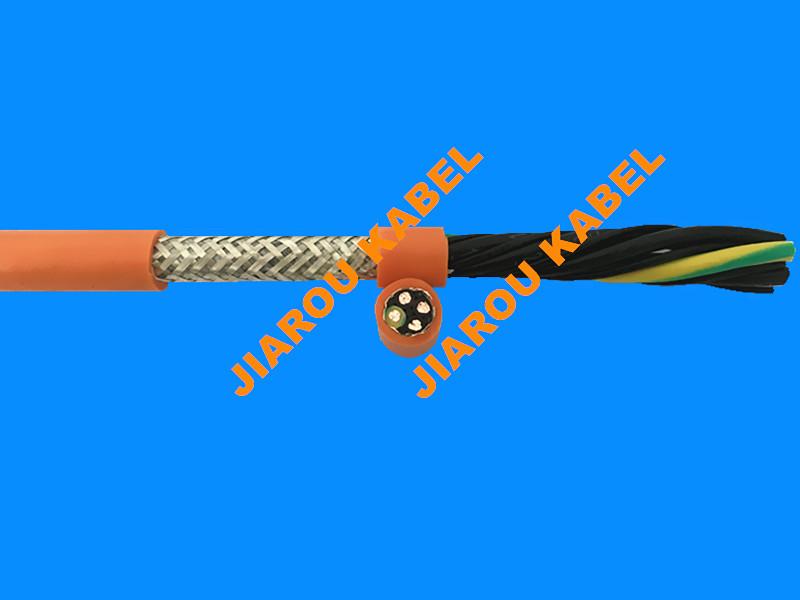 高柔性长行程拖链用伺服电机电缆