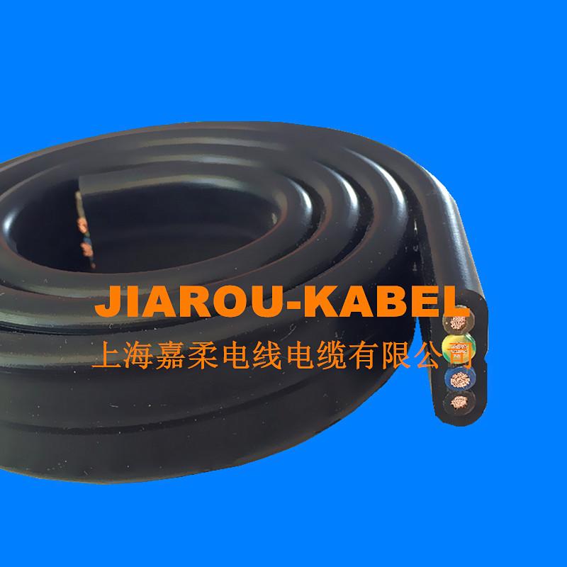 耐弯曲高柔性拖链扁电缆